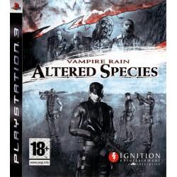 VAMPIRE RAIN : ALTERED SPECIES PS3 FR OCCASION