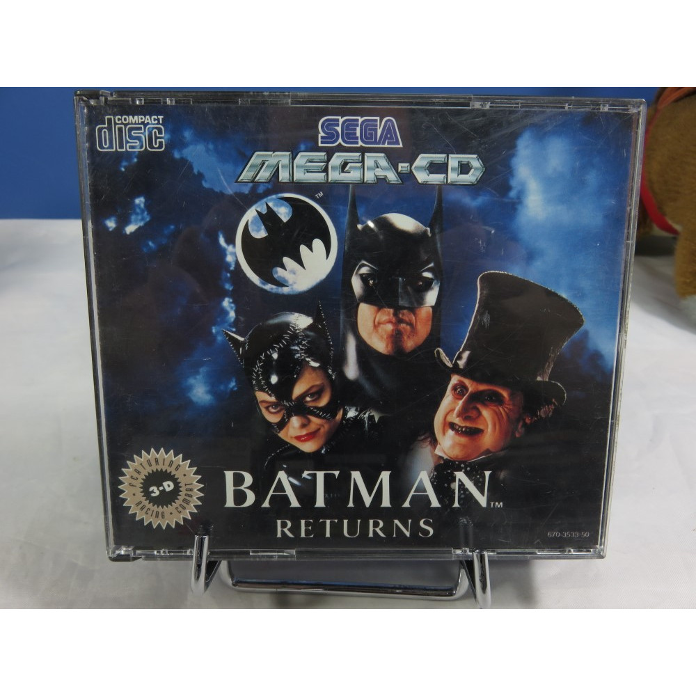 BATMAN RETURNS MEGA CD PAL-EURO OCCASION