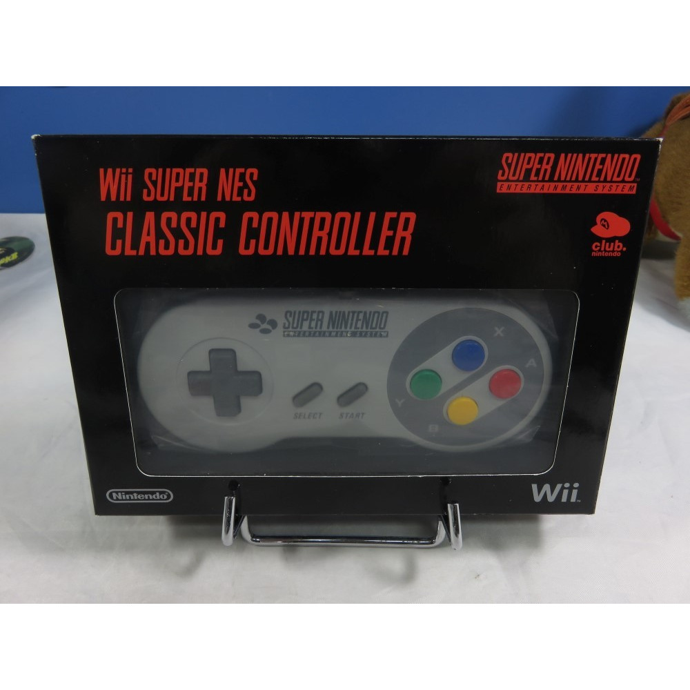 CONTROLLER - MANETTE WII SUPER NES CLASSIC CONTROLLER CLUB NINTENDO NEW
