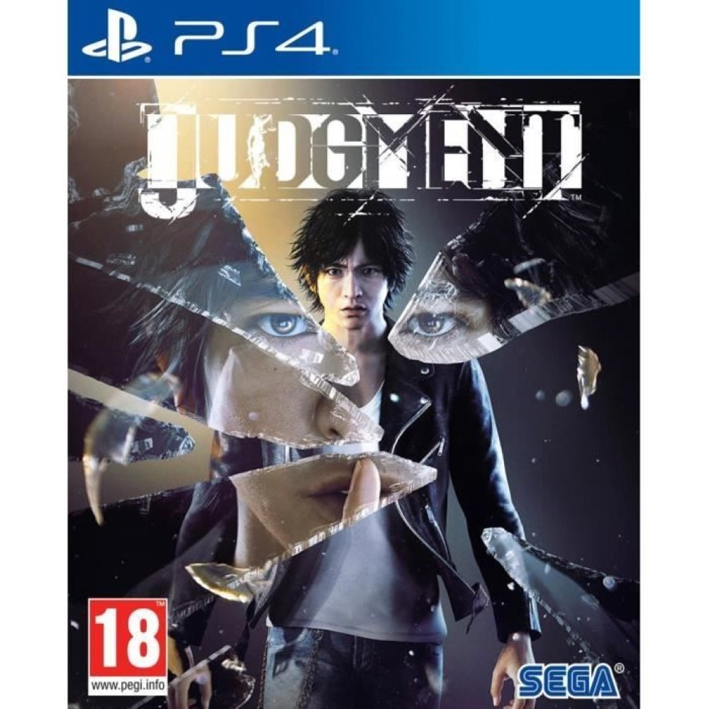 JUDGMENT PS4 EURO FR OCCASION