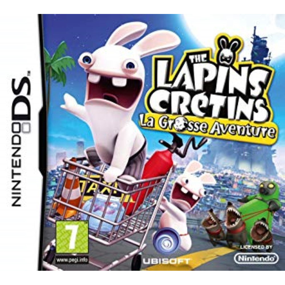THE LAPINS CRETINS LA GROSSE AVENTURE NDS FR OCCASION