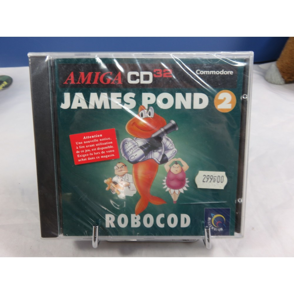 JAMES POND 2 AMIGA CD32 FR NEW