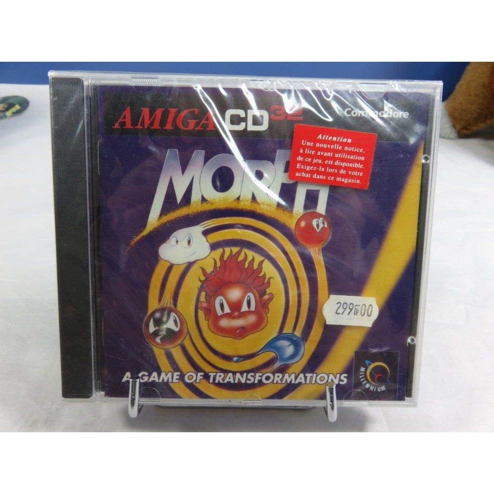 MORPH AMIGA CD 32 PAL EURO NEW