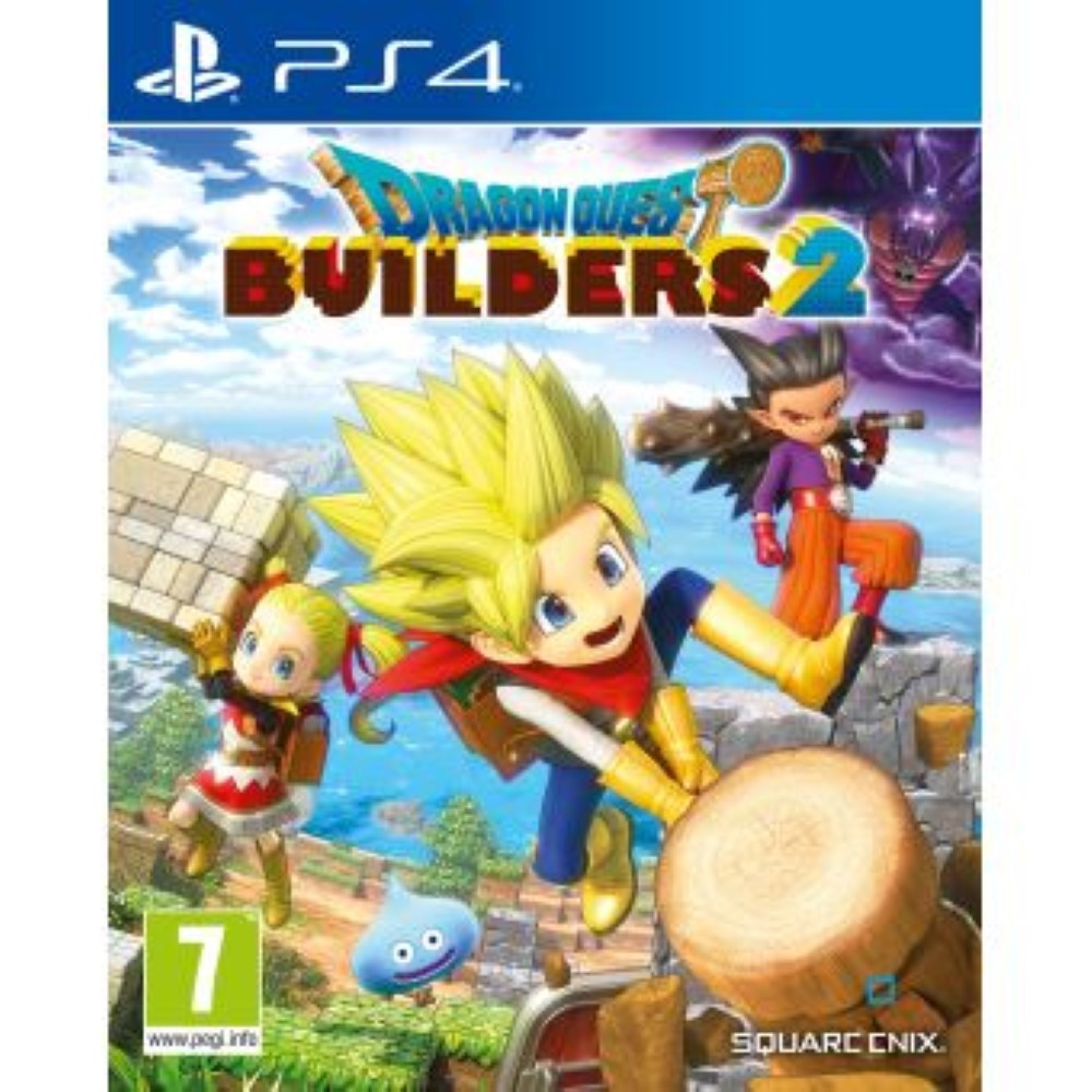 DRAGON QUEST BUILDERS 2 PS4 FR OCCASION