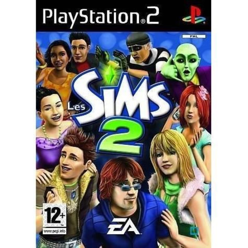 LES SIMS 2 PS2 PAL-FR OCCASION