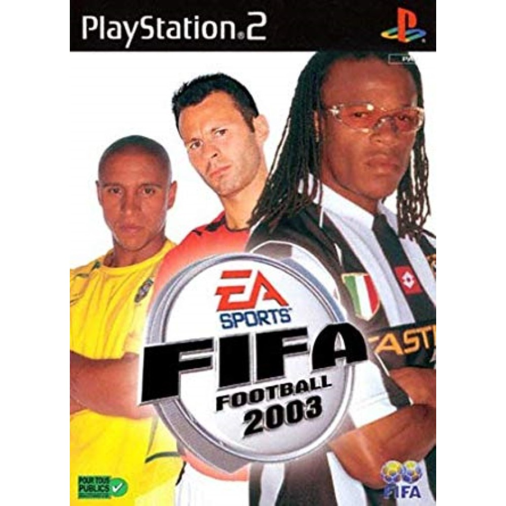 FIFA FOOTBALL 2003 PS2 PAL-FR OCCASION