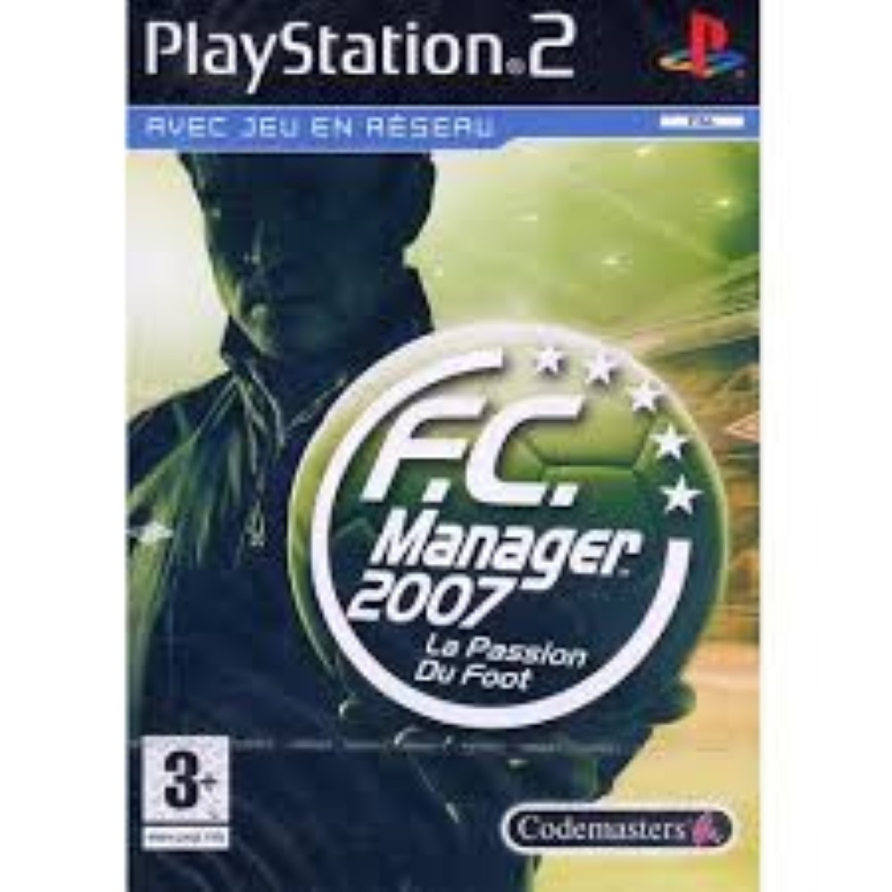 FC MANAGER 07 PS2 OCC