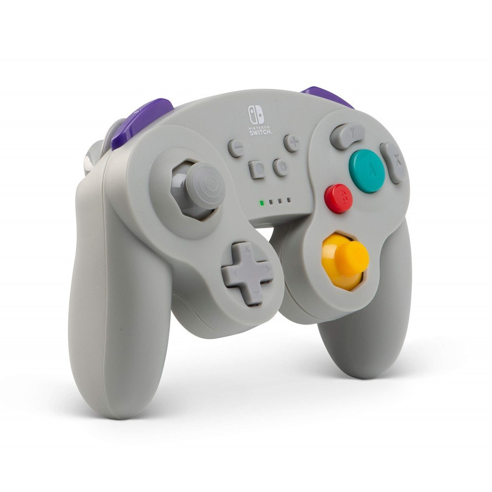 CONTROLLER GAMECUBE GRAY WIRELESS POWER A SWITCH FR NEW
