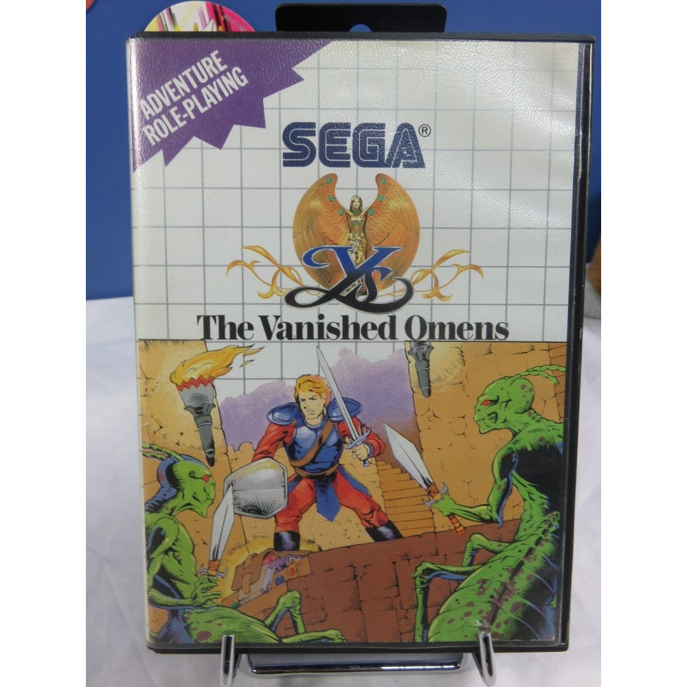 YS THE VANISHED OMENS MASTER SYSTEM PAL-EURO OCCASION
