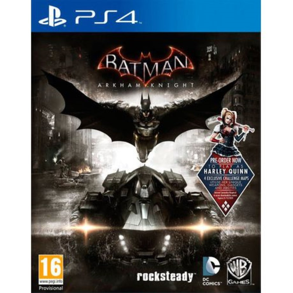BATMAN ARKHAM KNIGHT PS4 UK NEW
