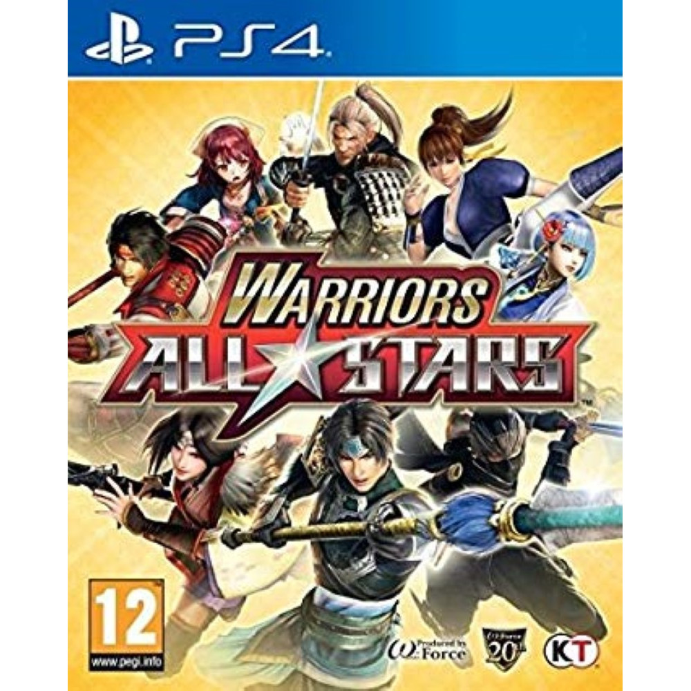 WARRIORS ALL STAR PS4 IT/ES OCCASION
