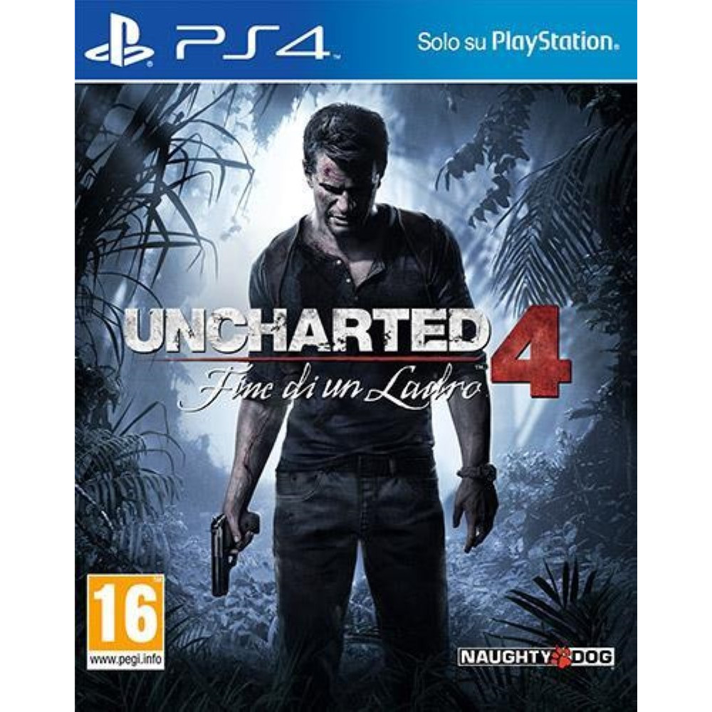 UNCHARTED 4 PS4 IT OCCASION