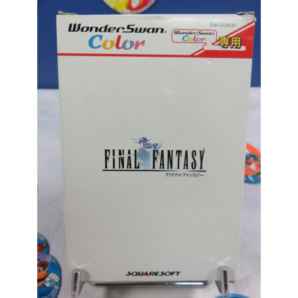 FINAL FANTASY WONDERSWAN COLOR NTSC-JPN OCCASION