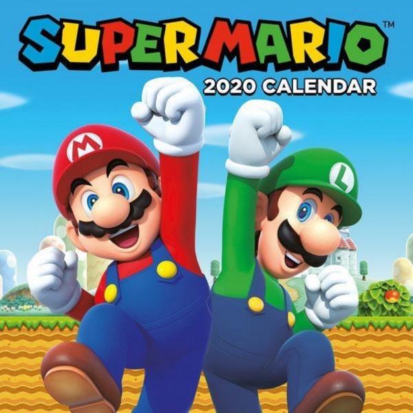 CALENDRIER SUPER MARIO 2020 NEW