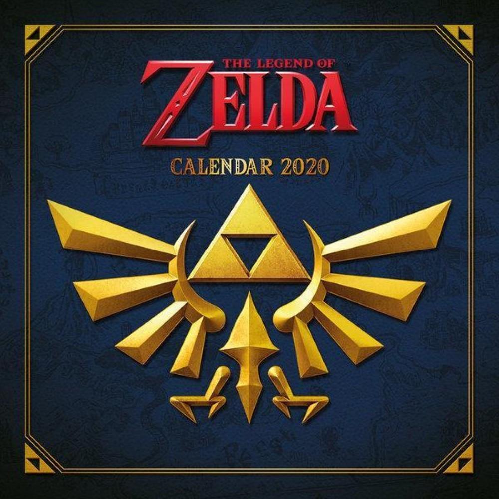CALENDRIER THE LEGEND OF ZELDA 2020 NEW