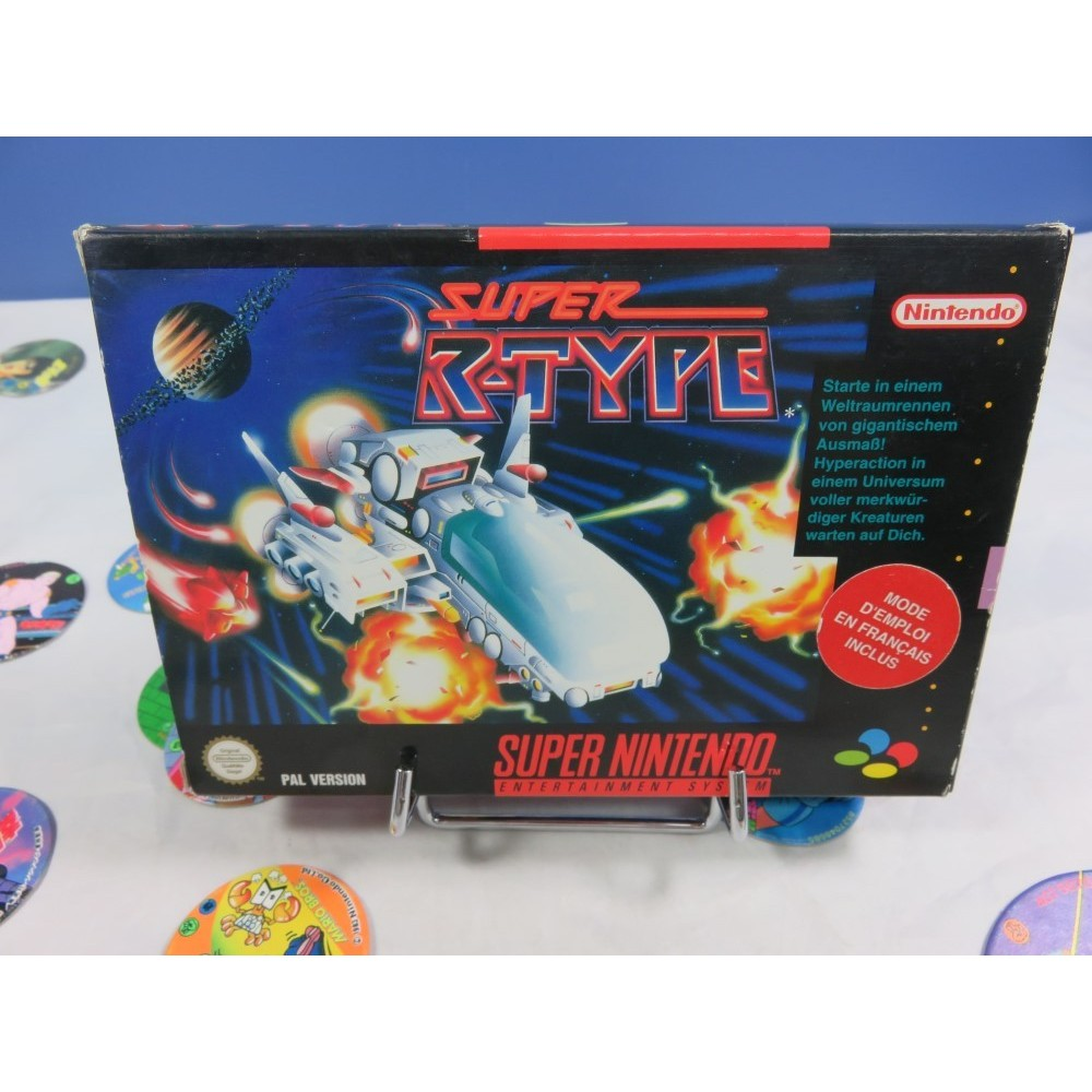 SUPER R-TYPE SNES PAL-NOE (NOTICE FAH) OCCASION