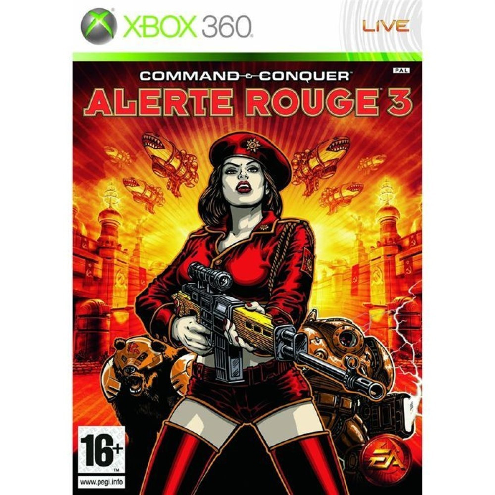 COMMAND AND CONQUER ALERTE ROUGE 3 XBOX 360 PAL-FR OCCASION