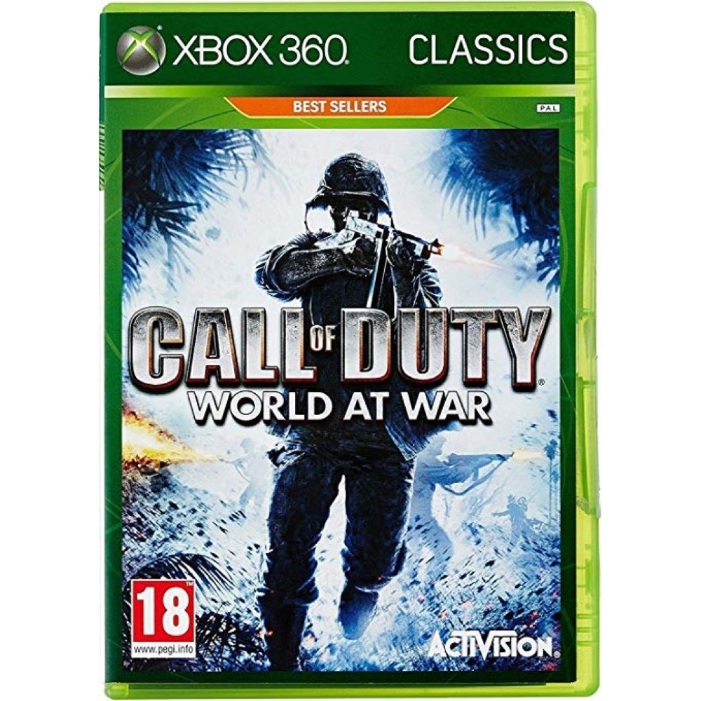 CALL OF DUTY : WORLD AT WAR (CLASSICS) XBOX 360 PAL-FR OCCASION