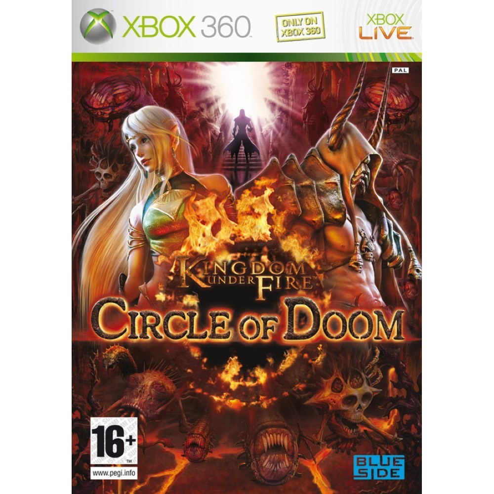 KINGDOM UNDER FIRE CIRCLE OF DOOM XBOX 360 PAL-FR OCCASION