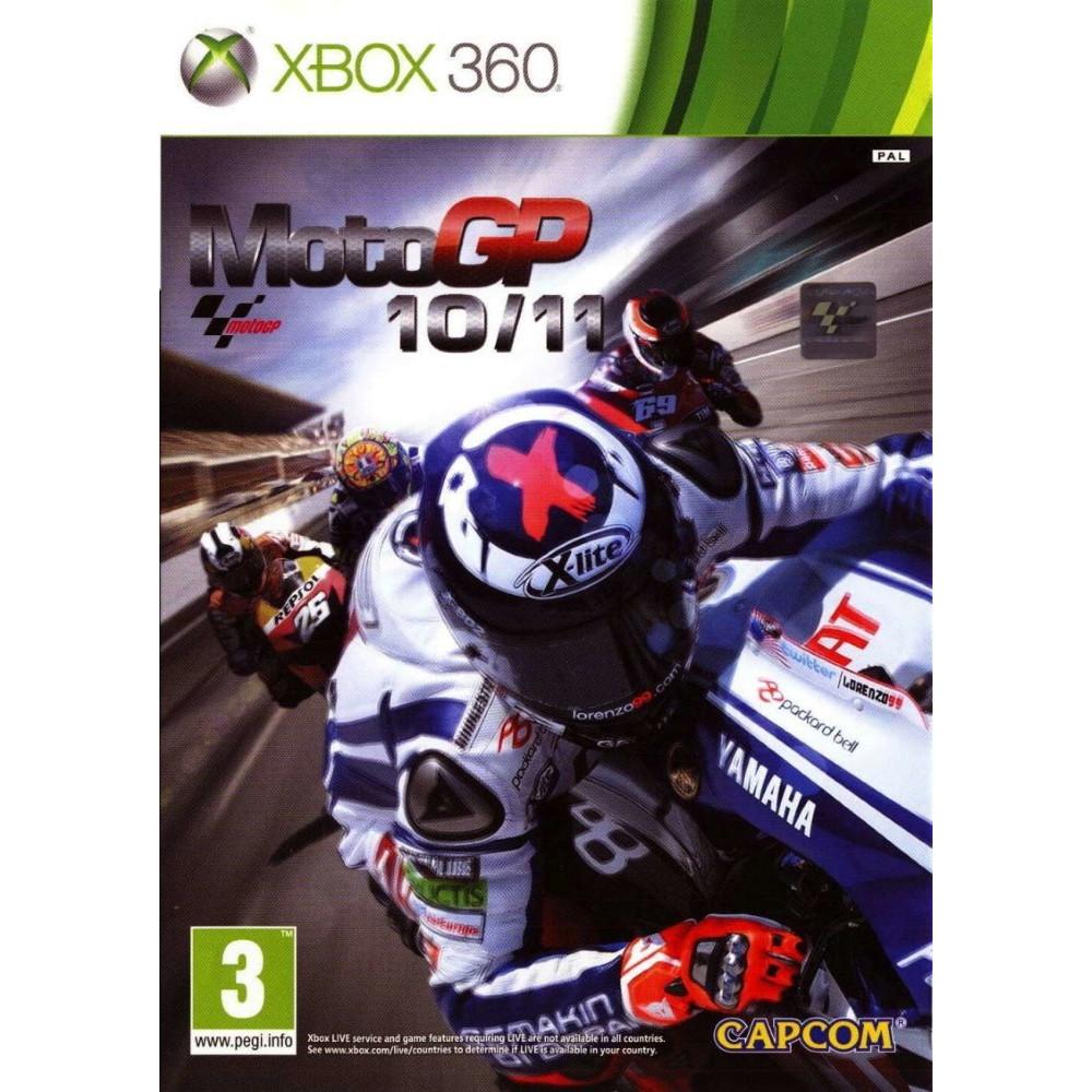MOTO GP 10/11 XBOX 360 PAL-FR OCCASION