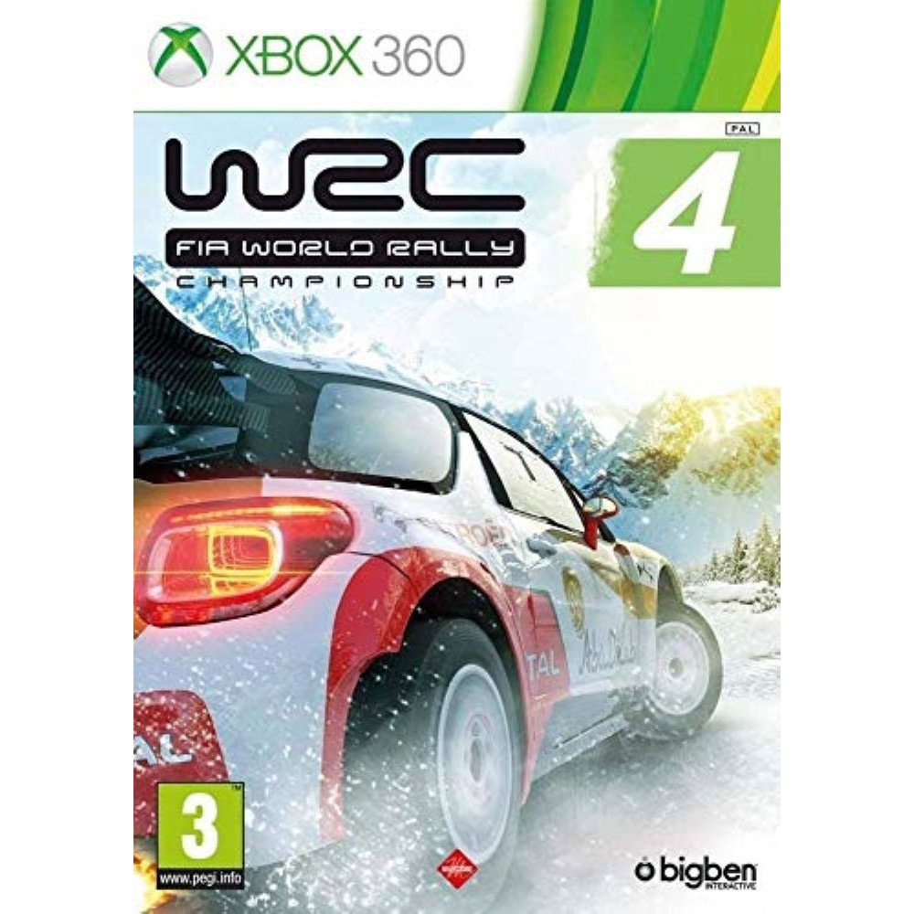 WRC 4 XBOX 360 PAL-EURO OCCASION