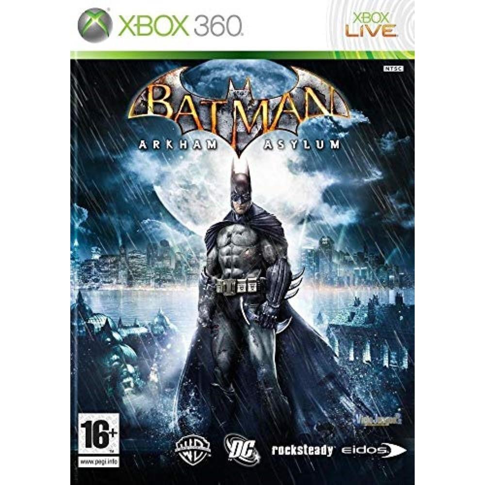 BATMAN ARKHAM ASYLUM (CLASSICS) XBOX 360 PAL-FR OCCASION