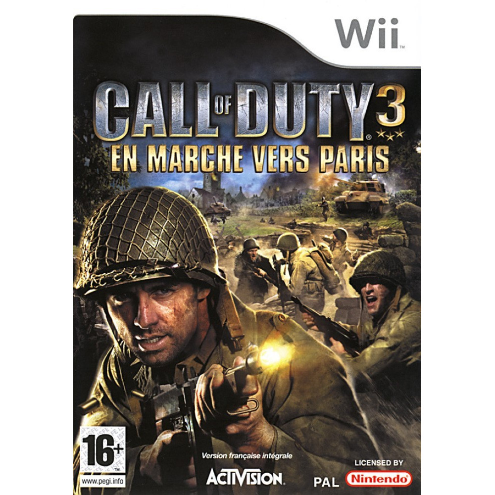 CALL OF DUTY 3 WII PAL-FR OCCASION
