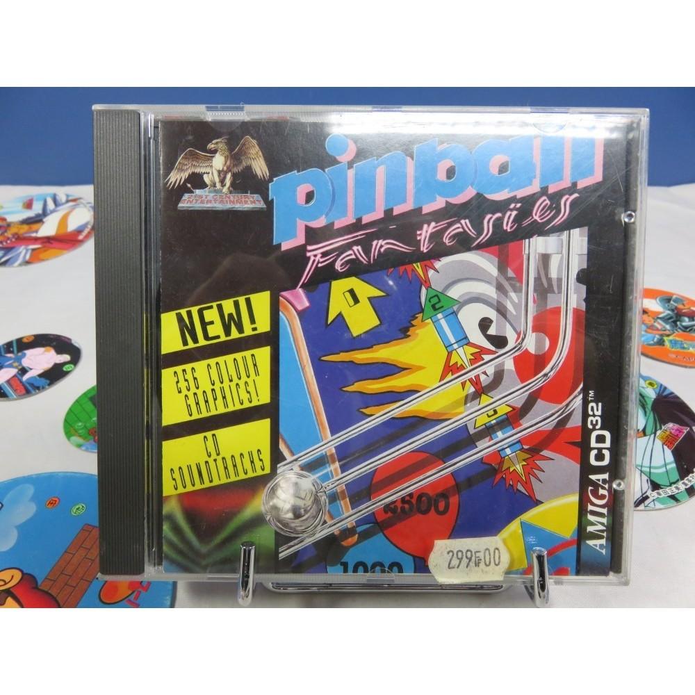 PINBALL FANTASIES AMIGA CD-32 EURO-FR OCCASION