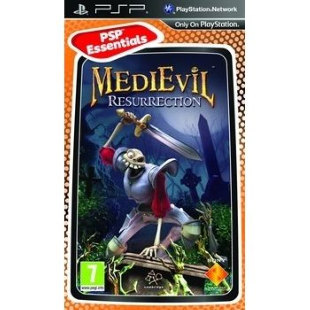 MEDIEVIL ESSENTIEL PSP FR OCCASION
