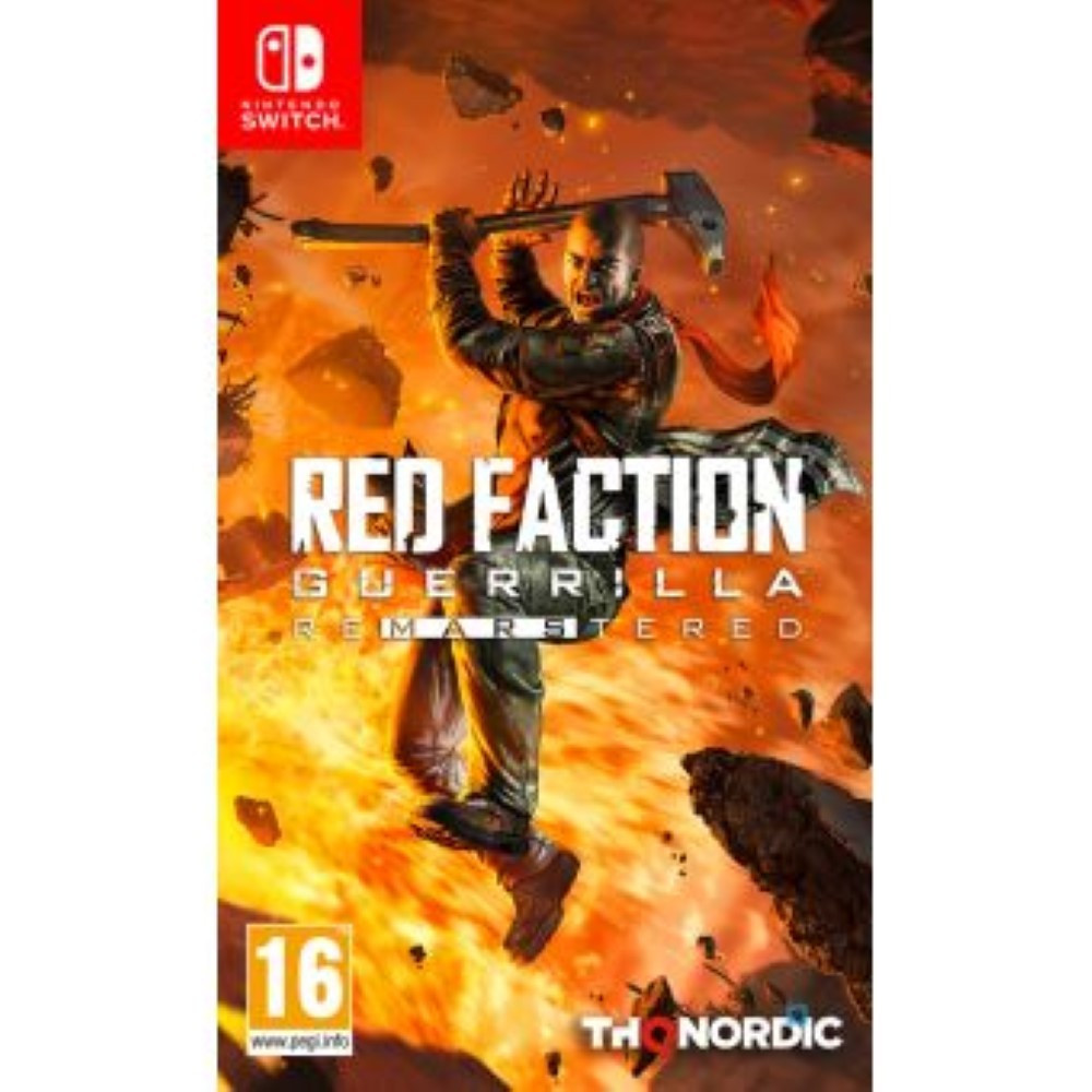 RED FACTION GUERRILLA REMASTERED SWITCH EURO FR OCCASION