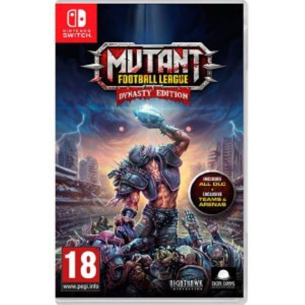 MUTANT FOOTBALL LEAGUE DYNASTY EDITION SWITCH UK OCCASION