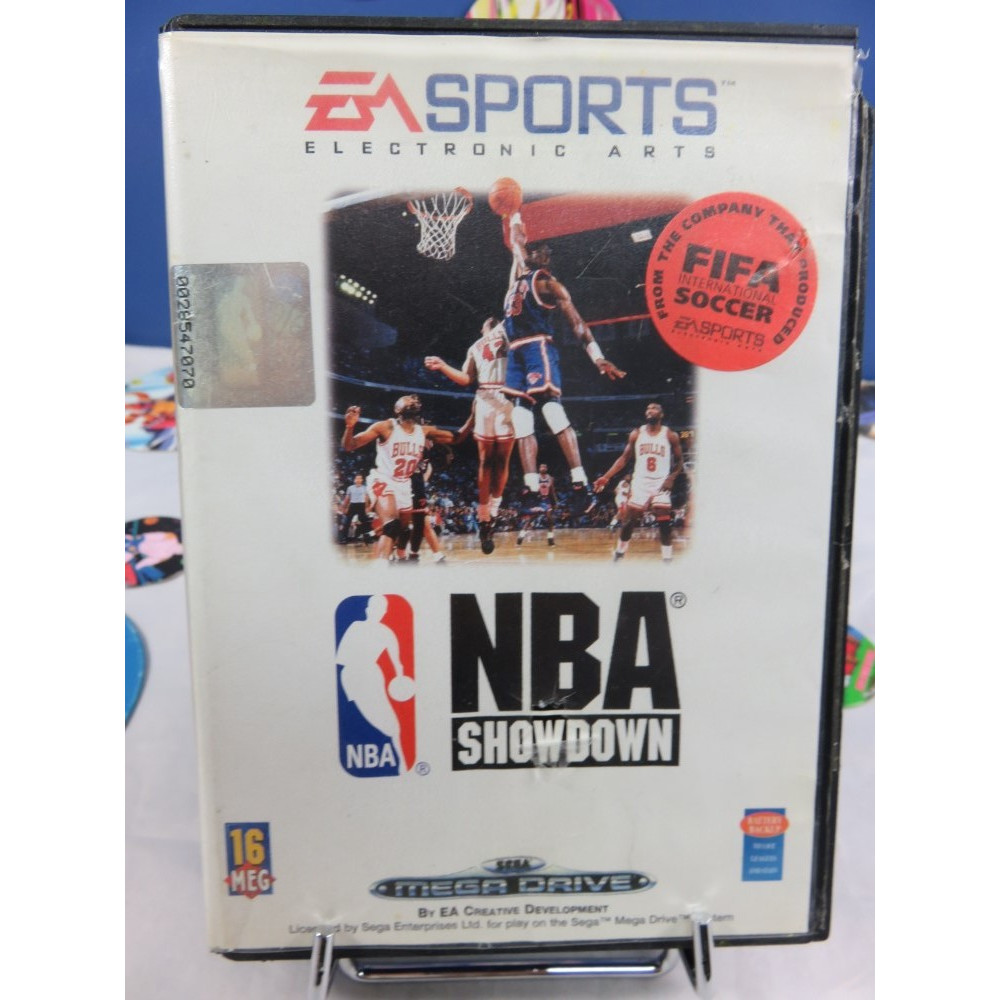 NBA SHOWDOWN 94 MEGADRIVE PAL-EURO OCCASION (SANS NOTICE)