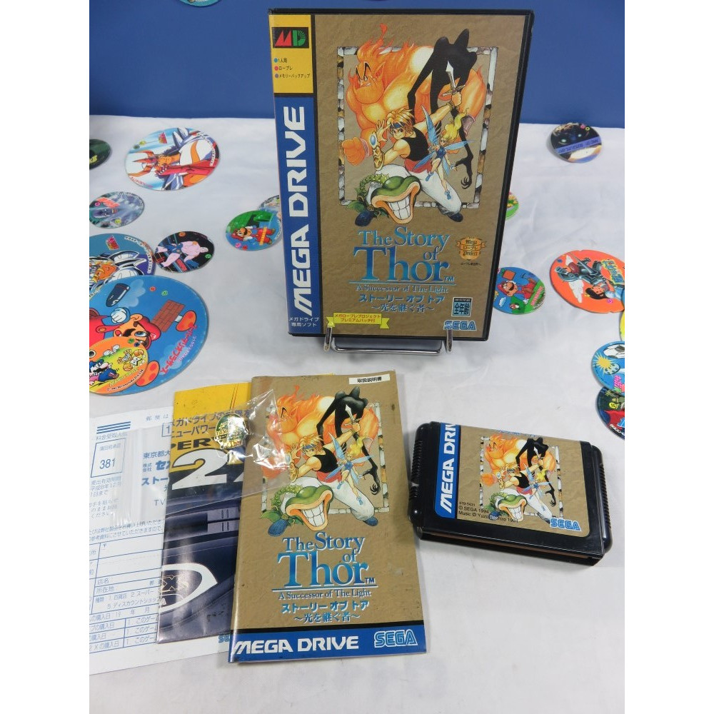 THE STORY OF THOR MEGADRIVE NTSC-JPN OCCASION