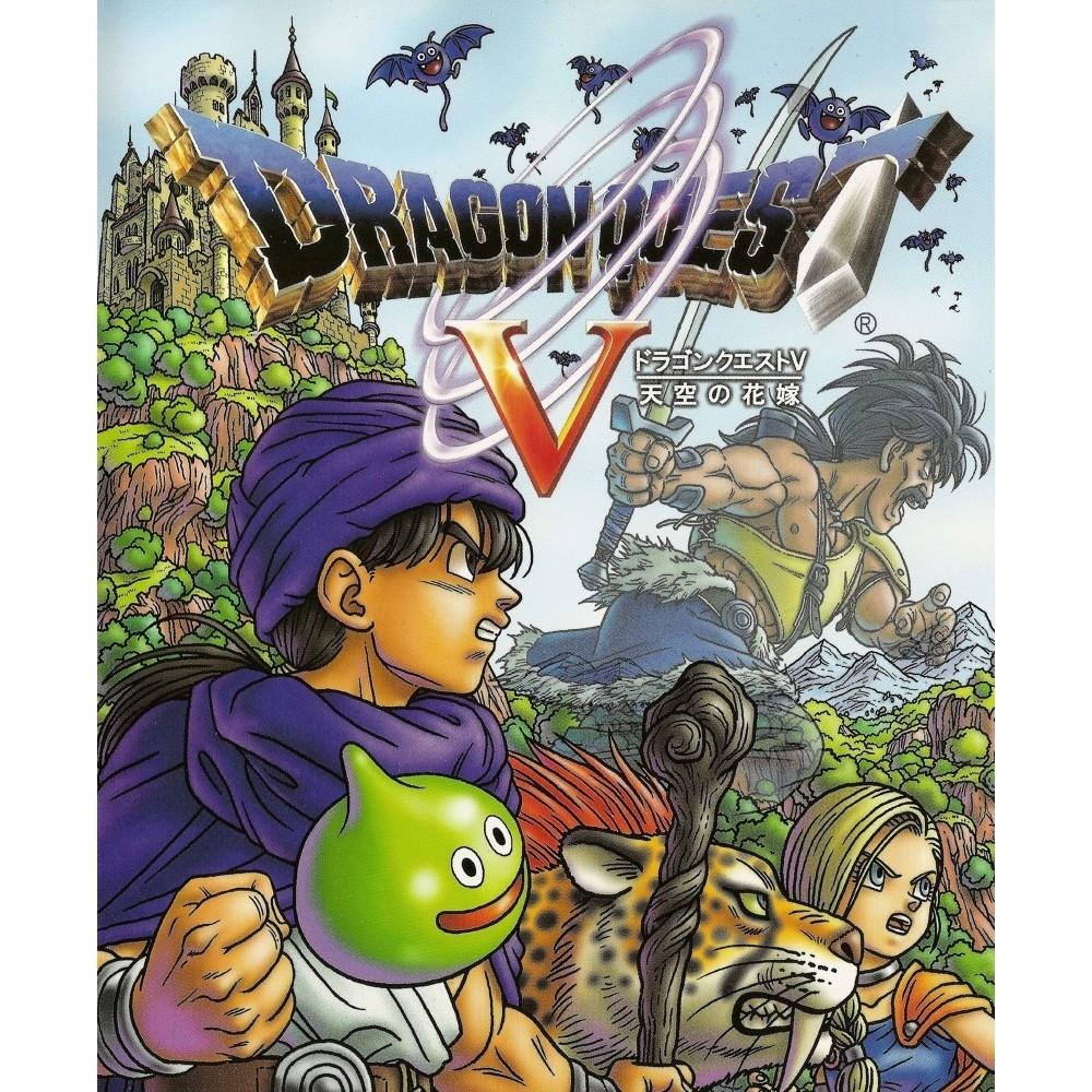 DRAGON QUEST V PS2 NTSC-JPN OCCASION (ETAT B)