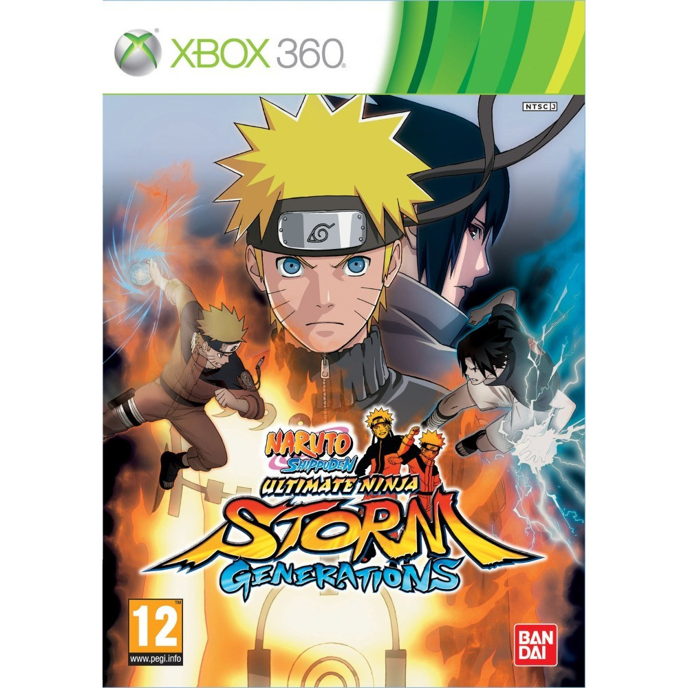 NARUTO SHIPPUDEN ULTIMATE NINJA STORM STORM GENERATIONS XBOX 360 PAL-FR OCCASION