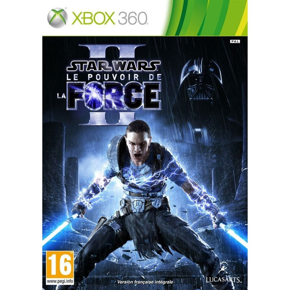STAR WARS LE POUVOIR DE LA FORCE II XBOX 360 PAL-FR OCCASION