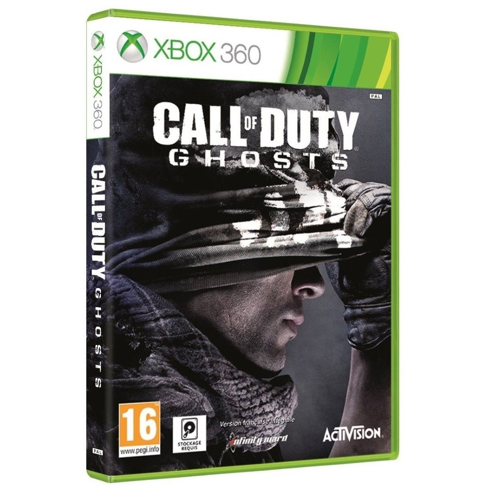 CALL OF DUTY GHOSTS XBOX 360 PAL OCCASION