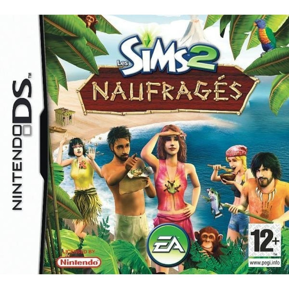 LES SIMS 2 NAUFRAGES NDS EURO OCCASION