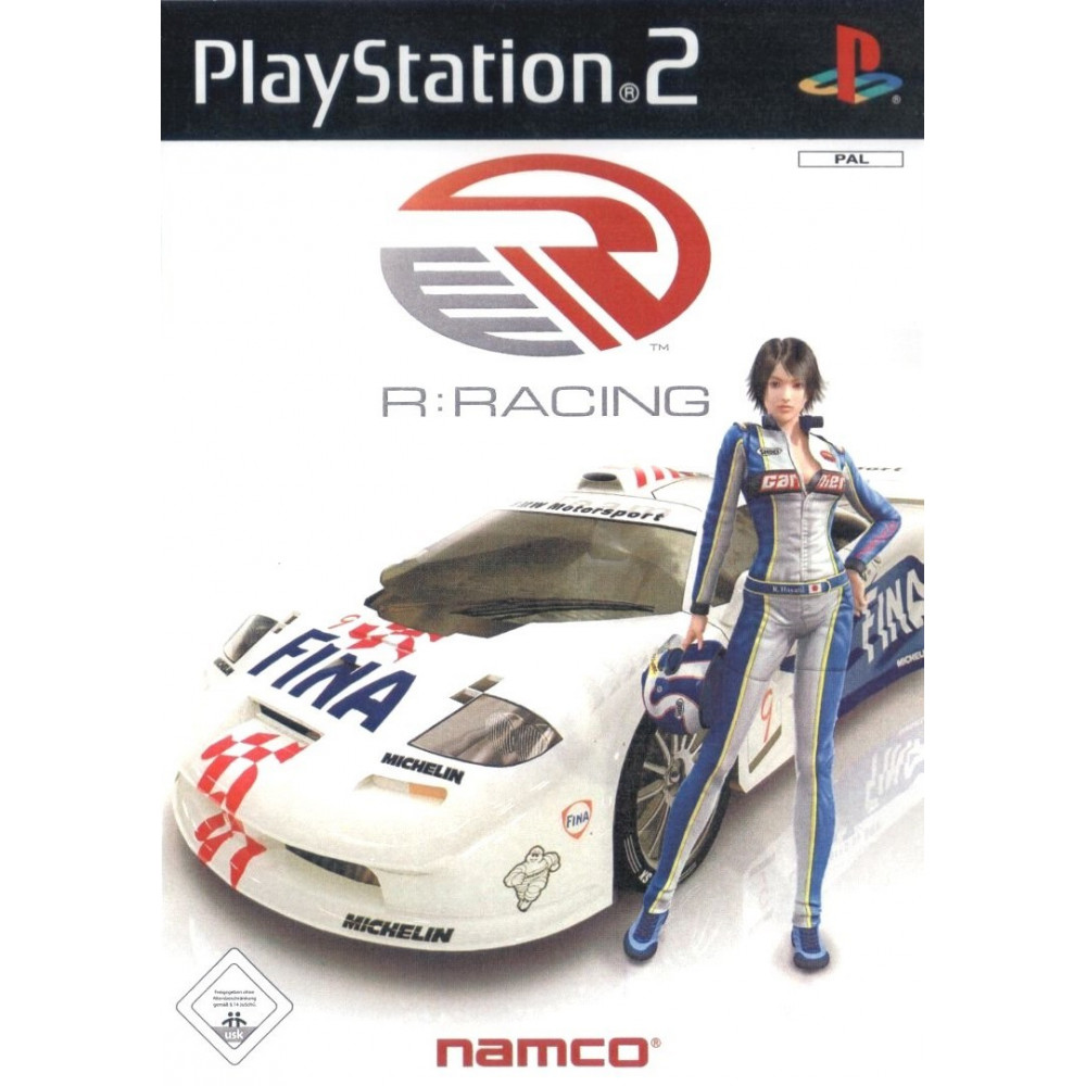 R RACING PS2 PAL-FR OCCASION