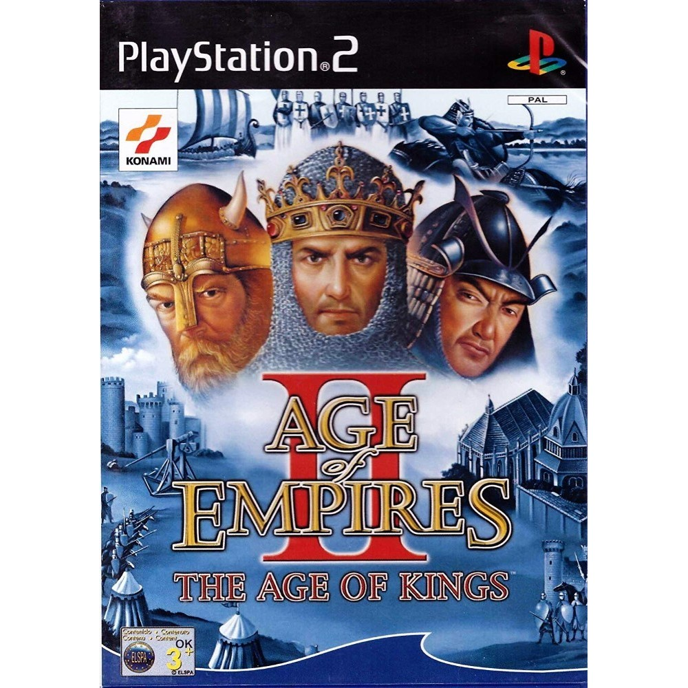 AGE OF EMPIRE II: THE AGE OF KINGS PS2 PAL-FR OCCASION