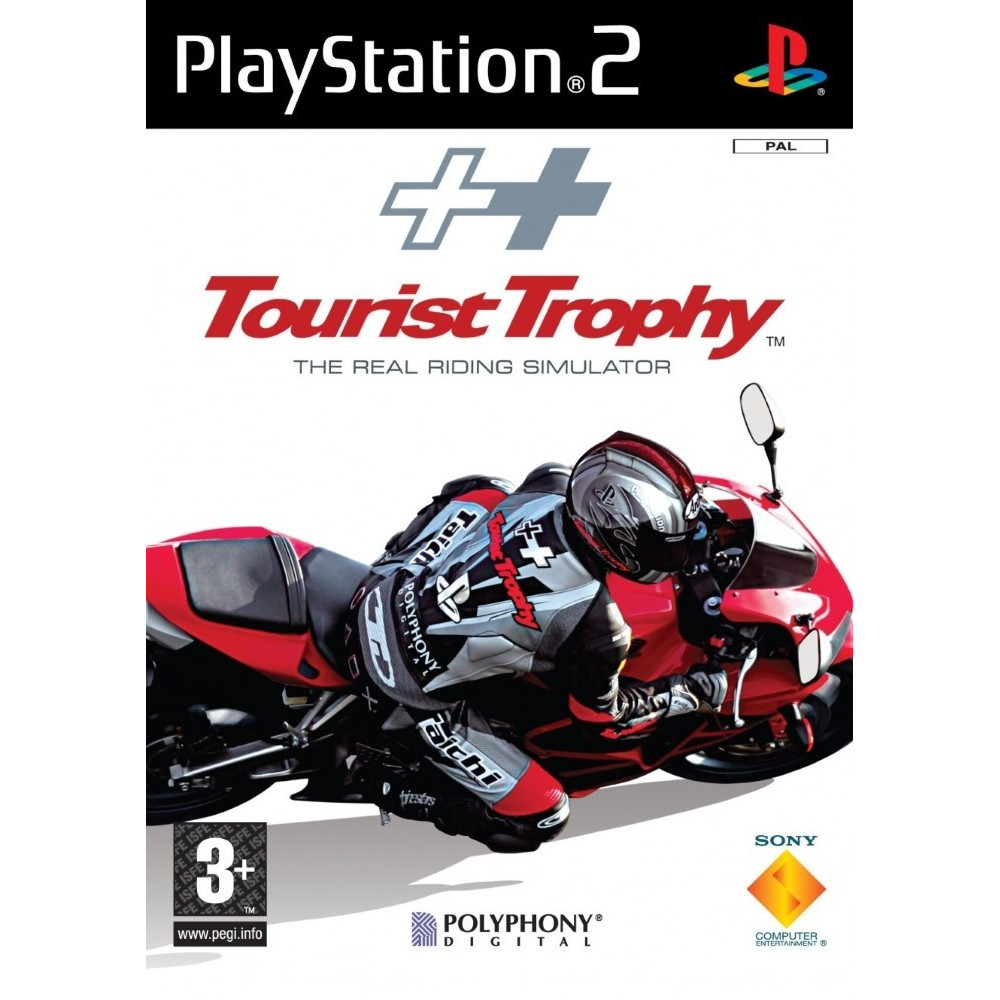 TOURIST TROPHY : THE REAL RIDING SIMULATOR PS2 PAL-FR OCCASION