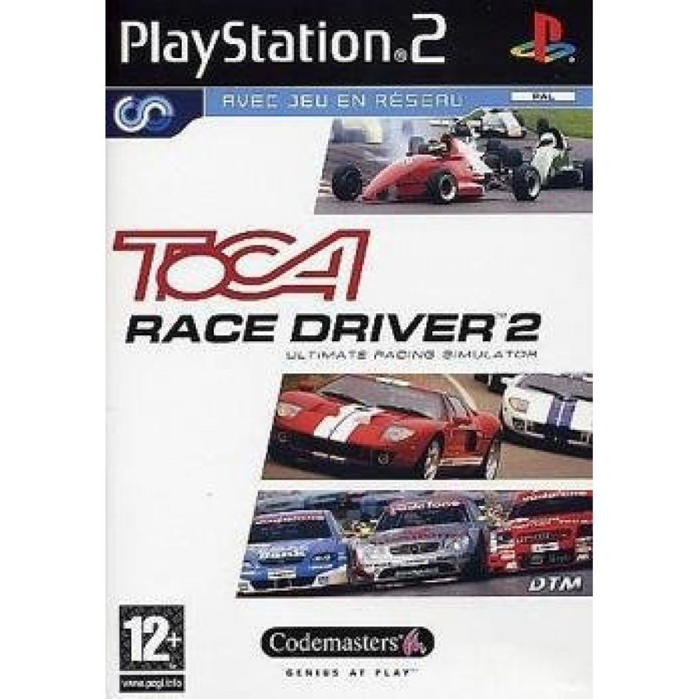 TOCA RACE DRIVER 2 PS2 PAL-FR OCCASION