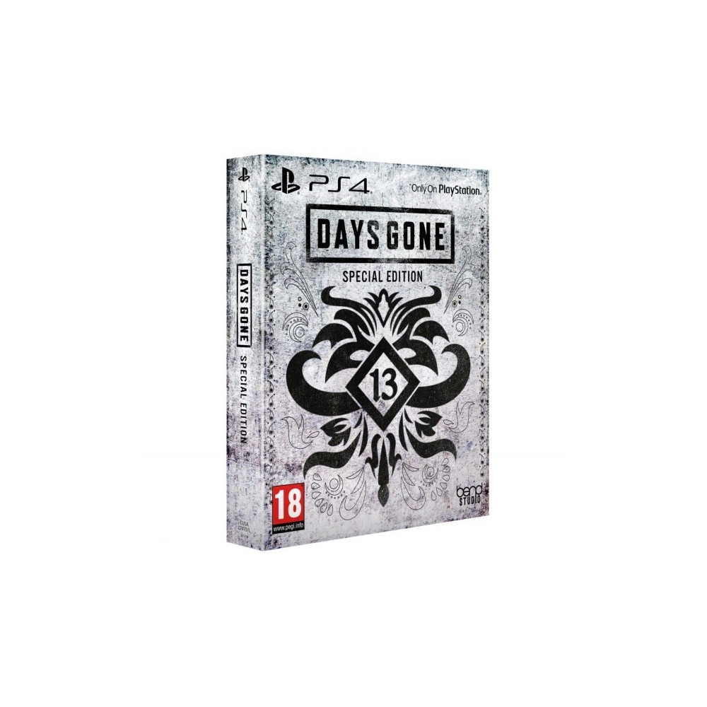 DAYS GONE SPECIAL EDITION PS4 EURO FR OCCASION