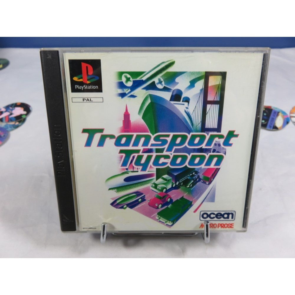TRANSPORT TYCOON PS1 PAL-EURO OCCASION