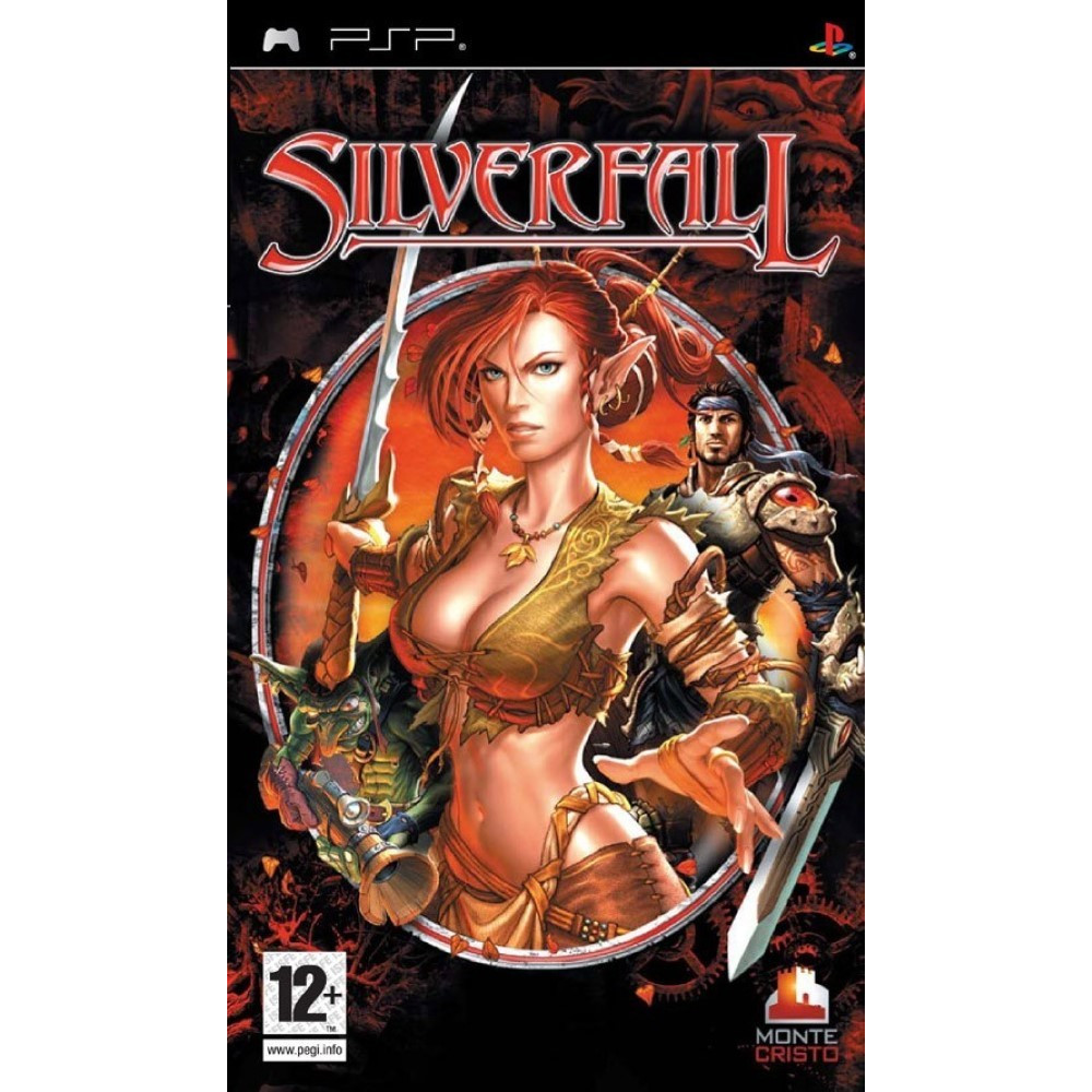 SILVERFALL PSP FR OCCASION
