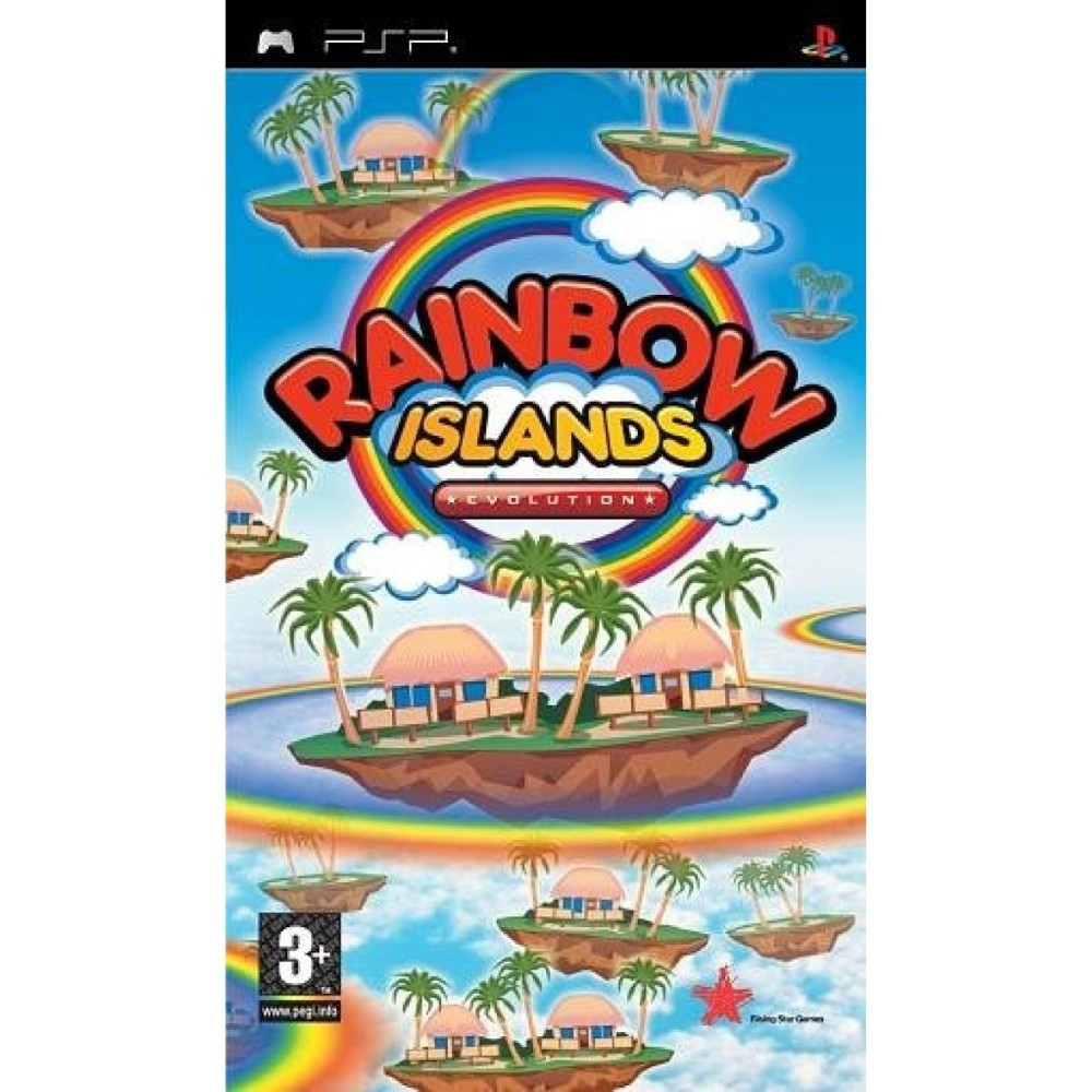 RAINBOW ISLANDS EVOLUTION PSP EURO OCCASION