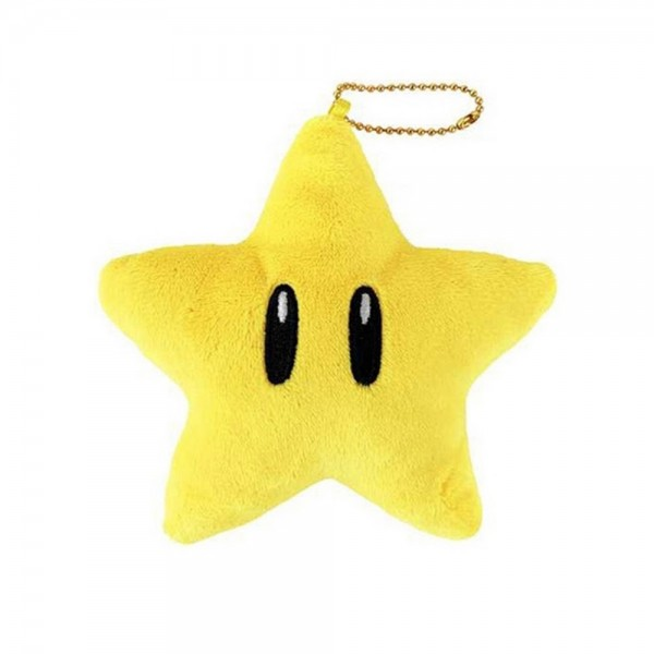 SUPER MARIO DIE-CUT COIN CASE STAR JPN NEW