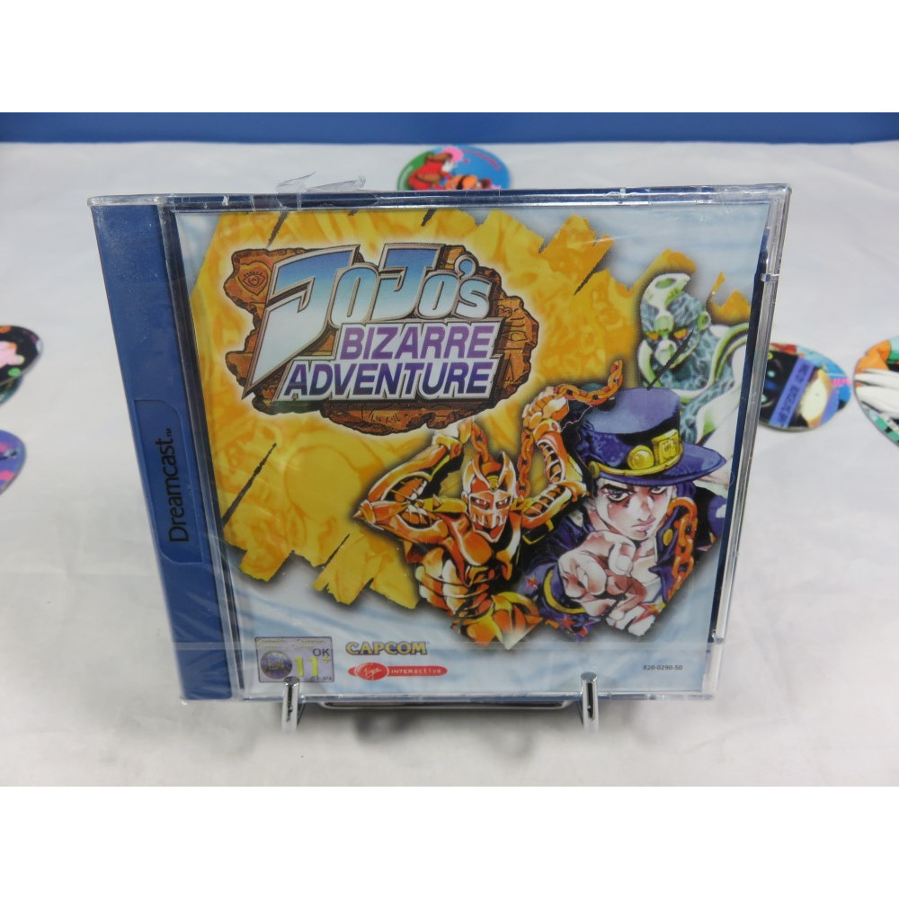 JOJO S BIZARRE ADVENTURE DREAMCAST PAL-EURO FR NEW