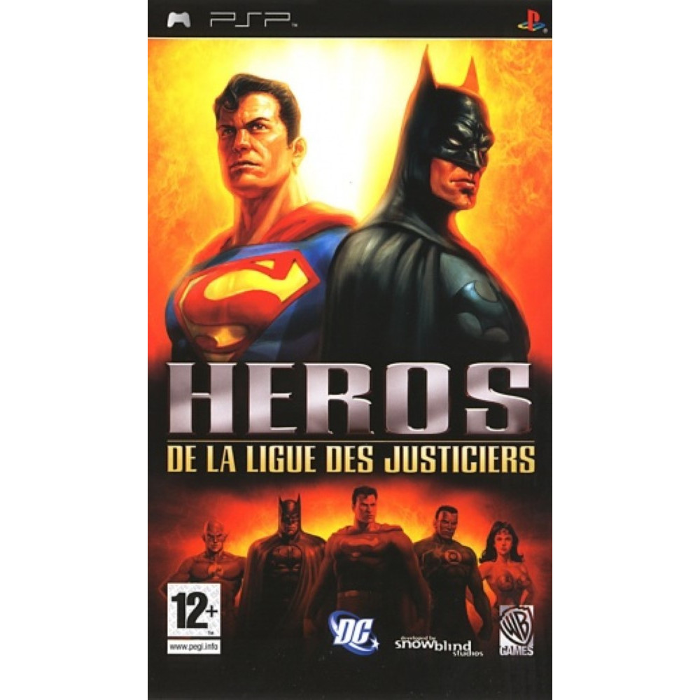 HEROS DE LA LIGUE DES JUSTICIERS PSP FR OCCASION