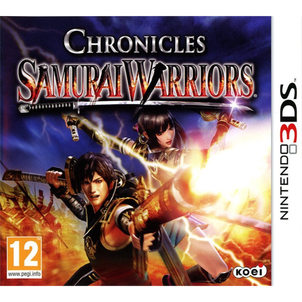 SAMURAI WARRIORS CHRONICLES 3DS FR OCCASSION